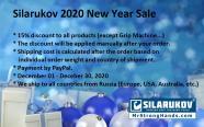 2020 Silarukov New Year Sale