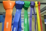 SILARUKOV rubber resistance bands. Set of six types.